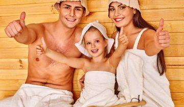 Un enfant peut-il aller au sauna ?